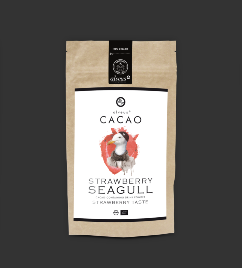 Cacao Strawberry Seagull