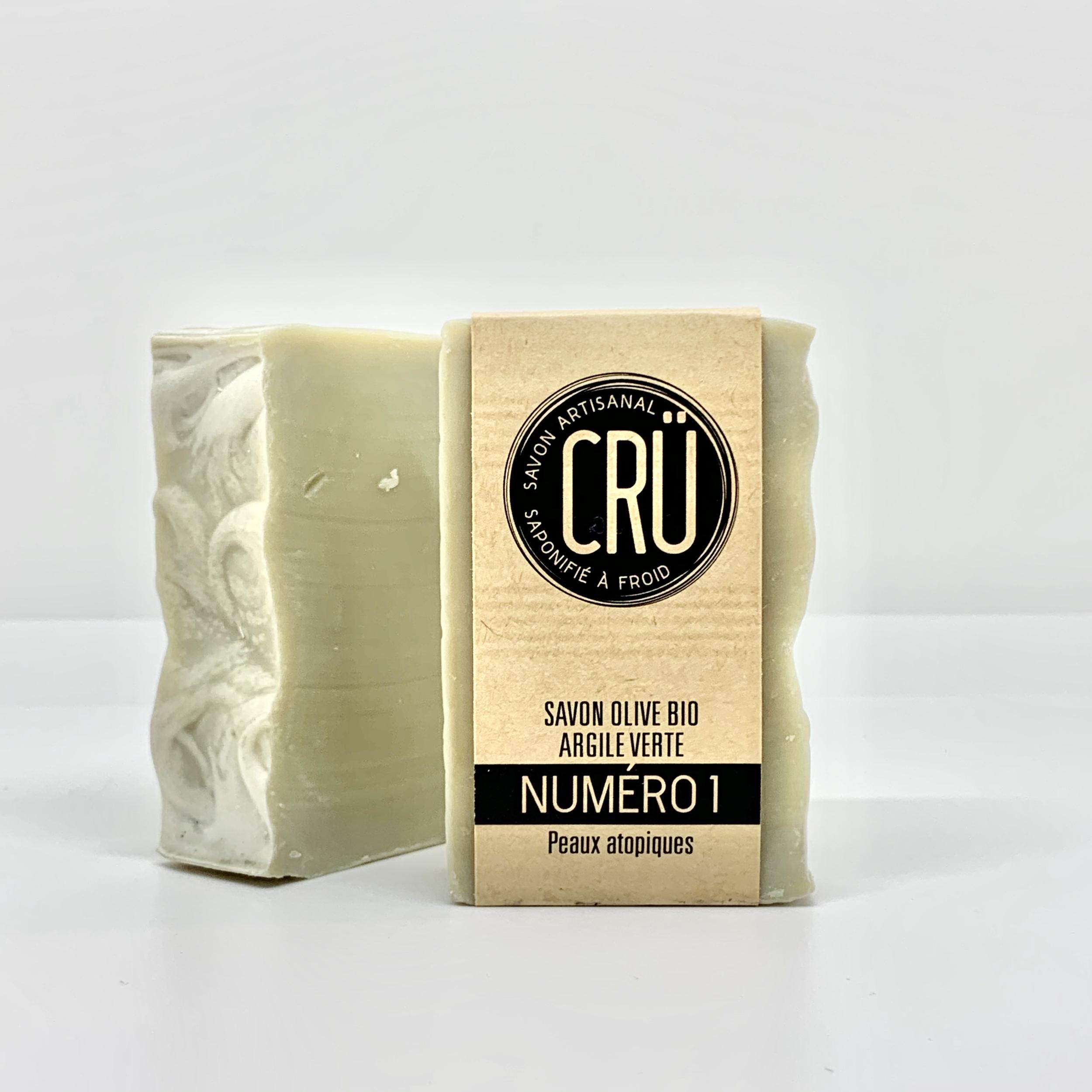 savon artisanal bio CRU N°1