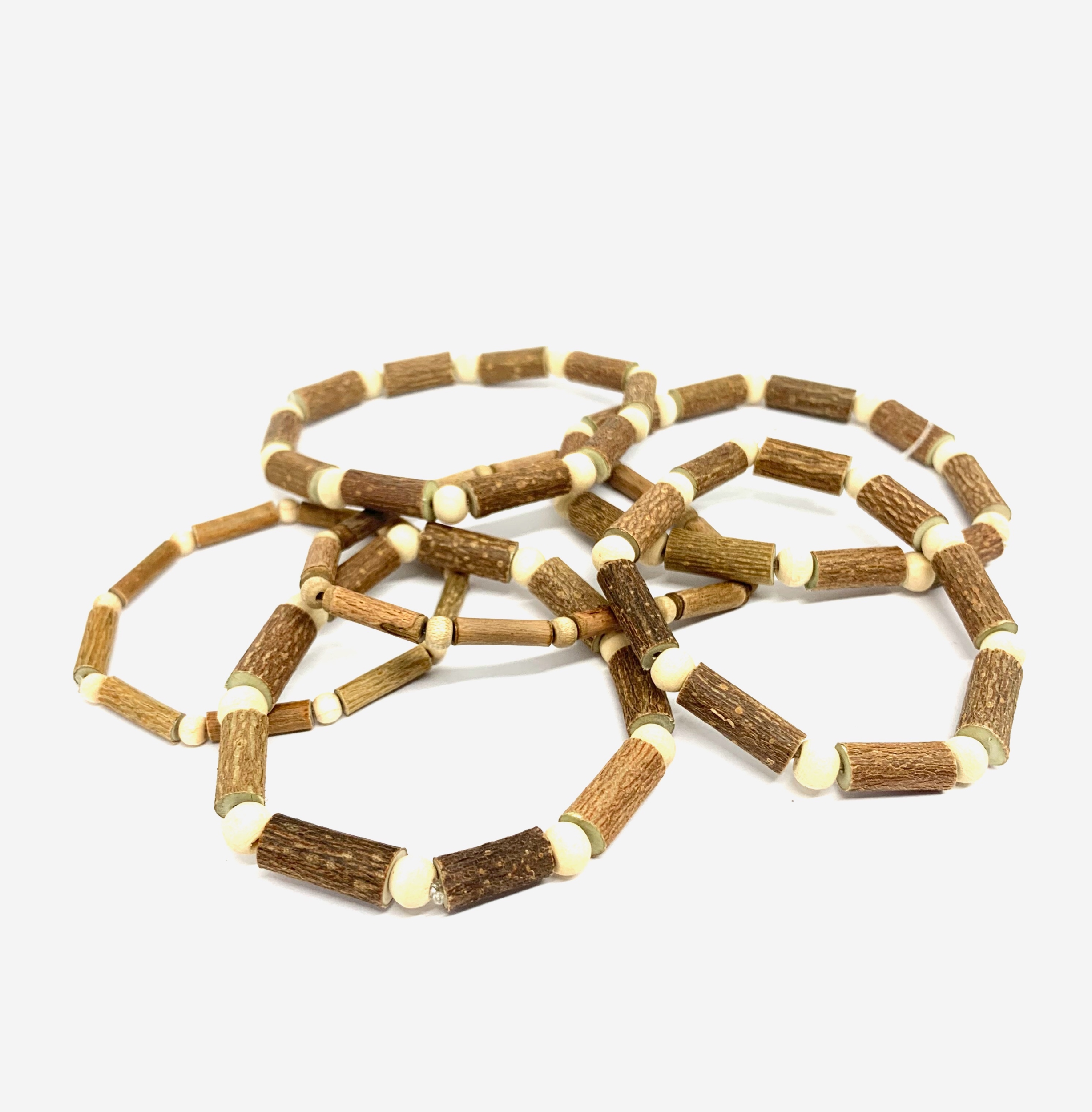 Bracelet 100% noisetier