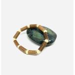 Bracelet en bois de noisetier