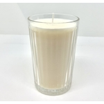 image bougie non toxique artisanale cire de soja
