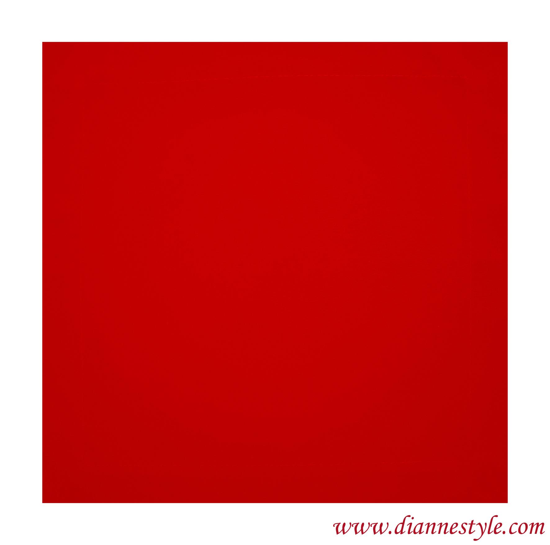 Serviette de table rouge. 40x40 cm. Réf. 275