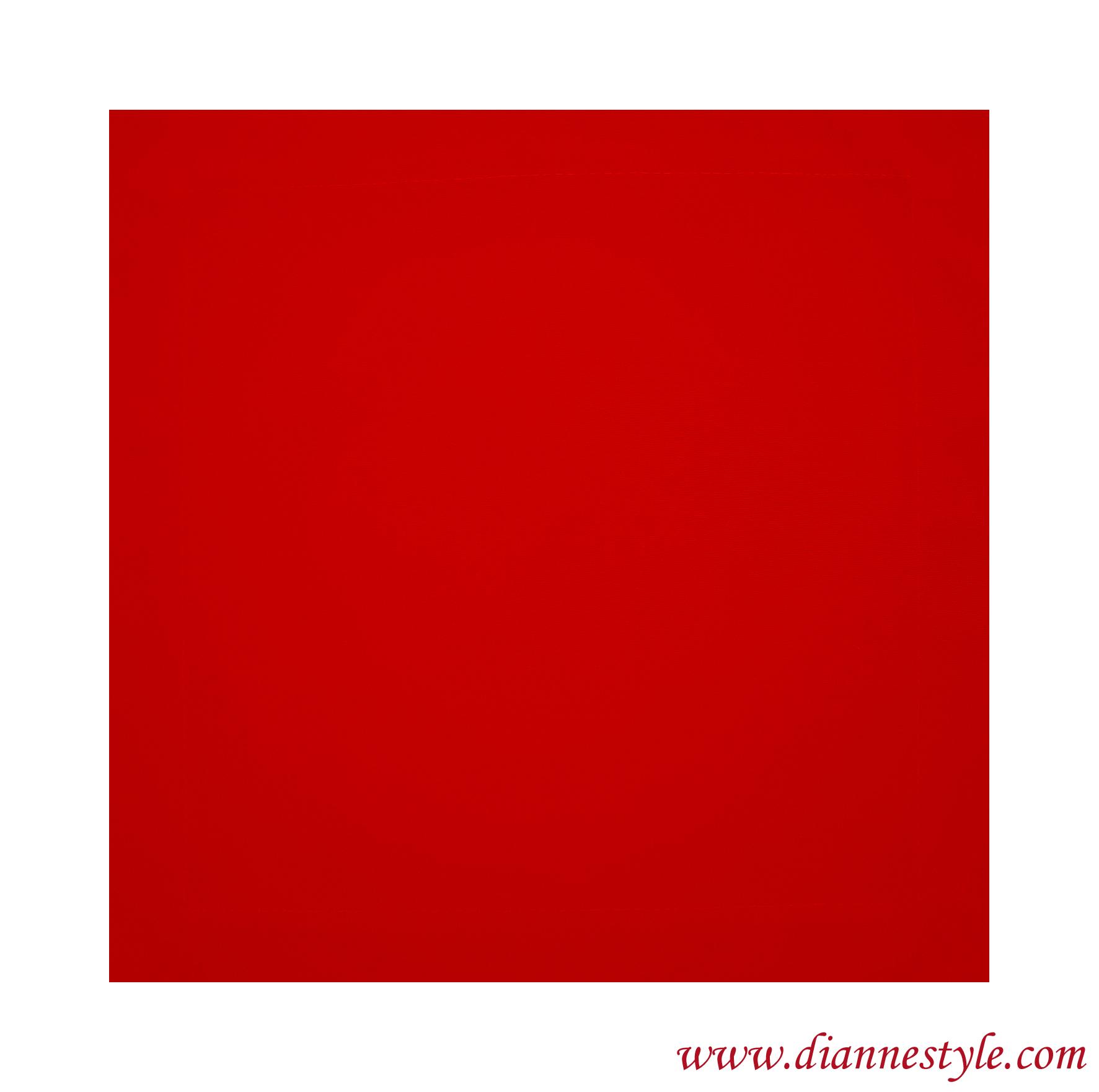 Serviette de table rouge. 30x30 cm. Réf. 276