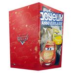 carte personnalisable en menu - Thème anniversaire Cars Disney avec Flash McQueen et Cruz Dinoco