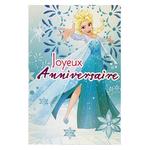 Joyeux anniversaire Reine des Neiges Réf 97
