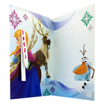 carte joyeux anniversaire La Reine des Neiges Disney B