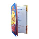 Carte personnalisable en menu - thème anniversaire Cars Disney Flash McQueen Cruz Doc Hudson