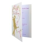 carte de menu félicitations pour mariage Réf 42 A