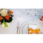 chevalet de table orange