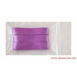 Rubans de satin coloris violet Réf. 152