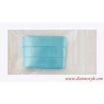 Rubans de satin couleur bleu glace Réf. 146