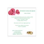 carte d'invitation anniversaire de mariage 174