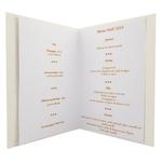 Carte de menu Noël Réf 194 C