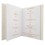 Carte de menu Noël Réf 193 C