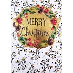 Carte de menu Noël fête réception 193 A