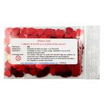 Paillettes de table rouges en coeur 200 B