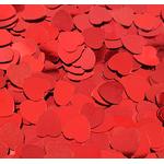 Paillettes de table rouges en coeur saint-valentin 200 A