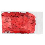 Paillettes de table rouges en coeur saint-valentin 200 C