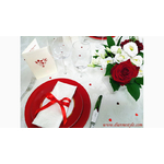 décoration de la table saint-valentin B