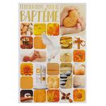 Carte de menu baptême fille Réf 53