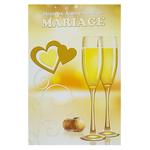 Carte anniversaire de mariage Ref 63 A