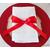nœud de serviette de table rouge Réf. 159