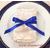 nœud de serviette de table bleu royal Réf. 153