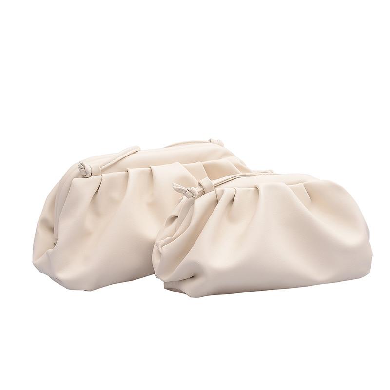 Couleur unie pour un petit sac élégant à bandoulière pour femme