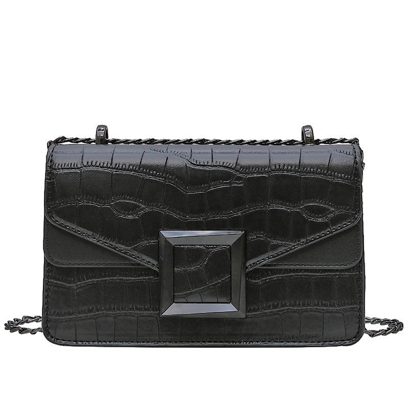 Petit sac à bandoulière femme luxe chaîne - Sac à main en cuir