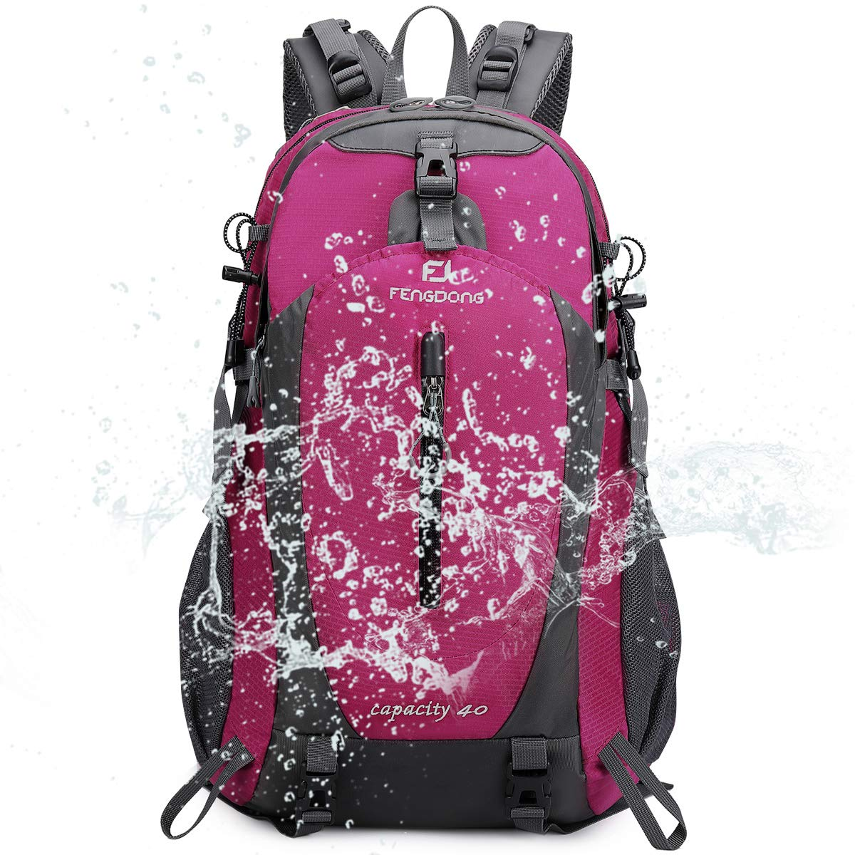 Sac à dos 40L imperméable à l\'eau, très léger pour la randonnée, Camping