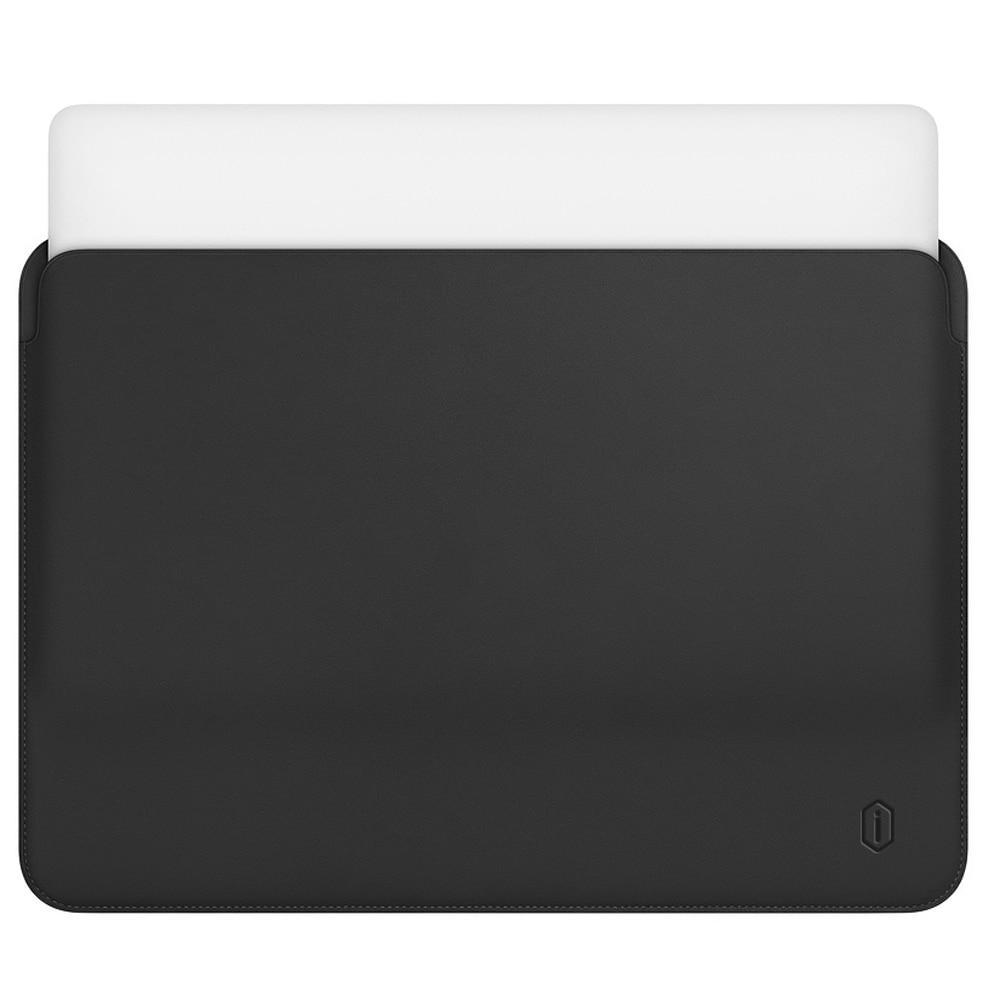 Sacoche en cuir pour MacBook Pro 13 16 housse pour ordinateur portable Ultra-mince