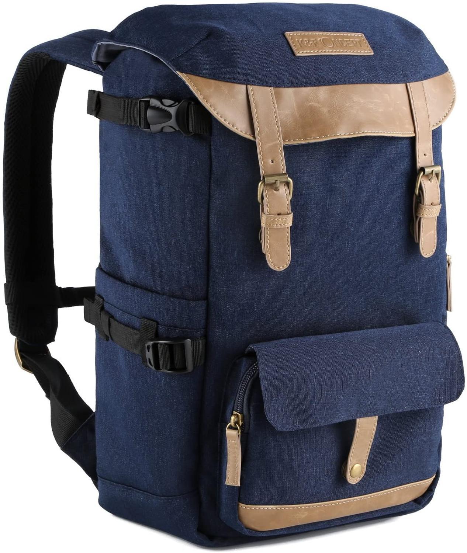 Sac photo de grande capacité multi-fonctionnel étanche - Sac à dos sac avec ceinture trépied