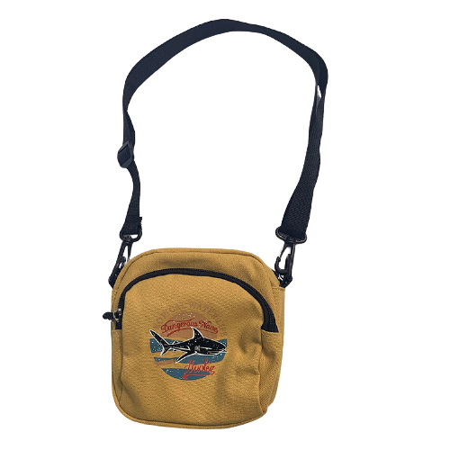 Sac à main en toile simple - Petit sac à bandoulière décontracté