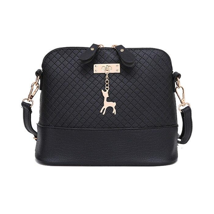 Votre sac à main pour femme avec un cerf en forme de coquille