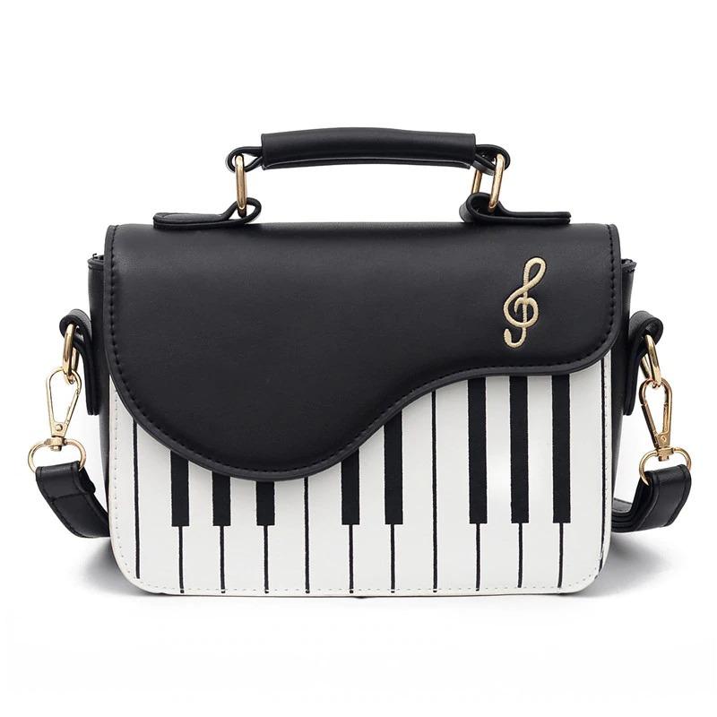 Découvrez le sac bandoulière piano pour femme