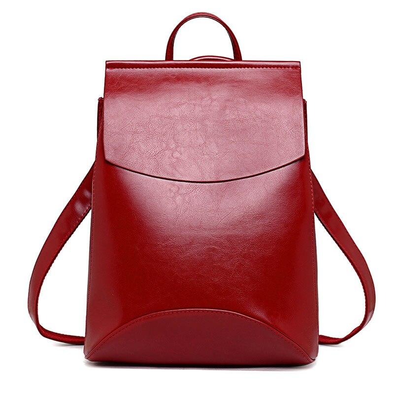 Nouvelle collection tendance, sac à dos Vintage en cuir pour femmes