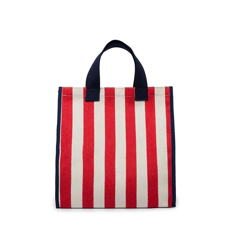 Sac à main de plage en toile réutilisable pour femme, fourre-tout de Shopping de bonne qualité