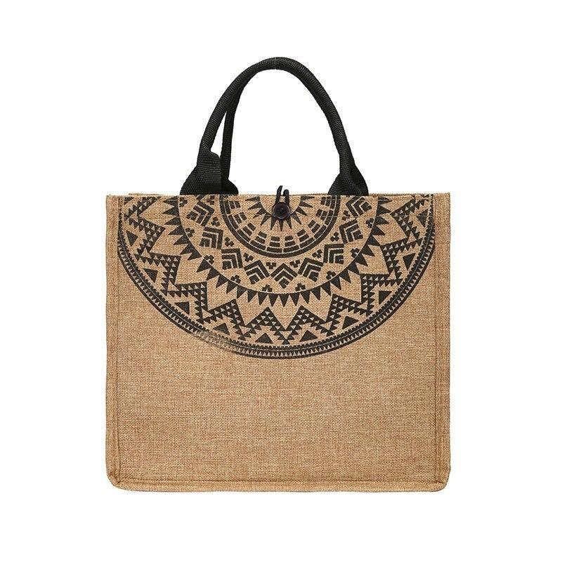 Sac à main en toile pour femme, sac de plage réutilisables, sacs de Shopping décontractés de grande capacité