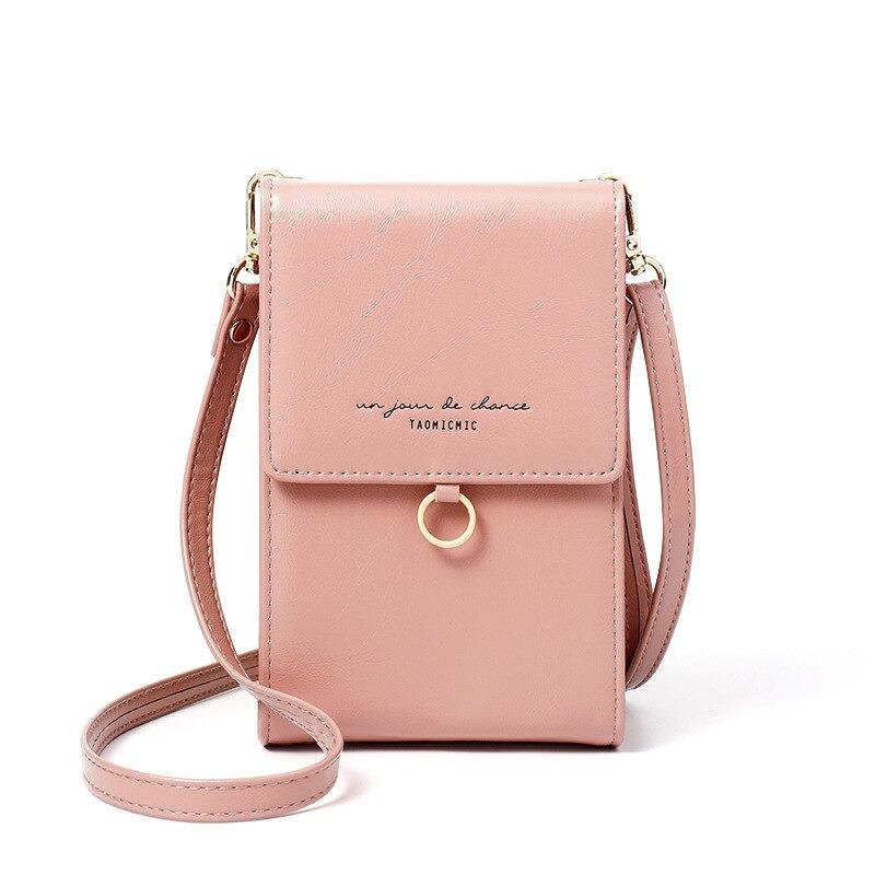 Mini sac en cuir porte-monnaie - Mini sac à épaule d\'été