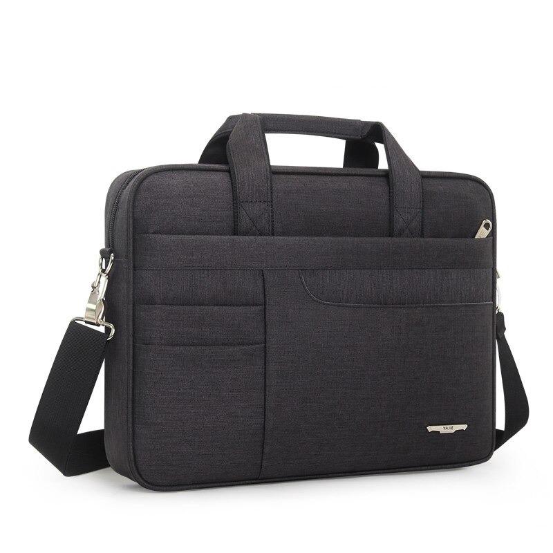 Sacoche pour ordinateur portable - Sac à main d\'affaires pour hommes grande capacité avec bandoulière