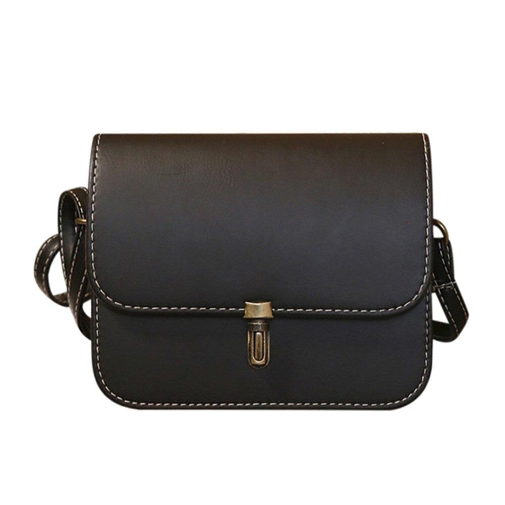 Petit sac carré femme - Sac à main rétro avec bandoulière