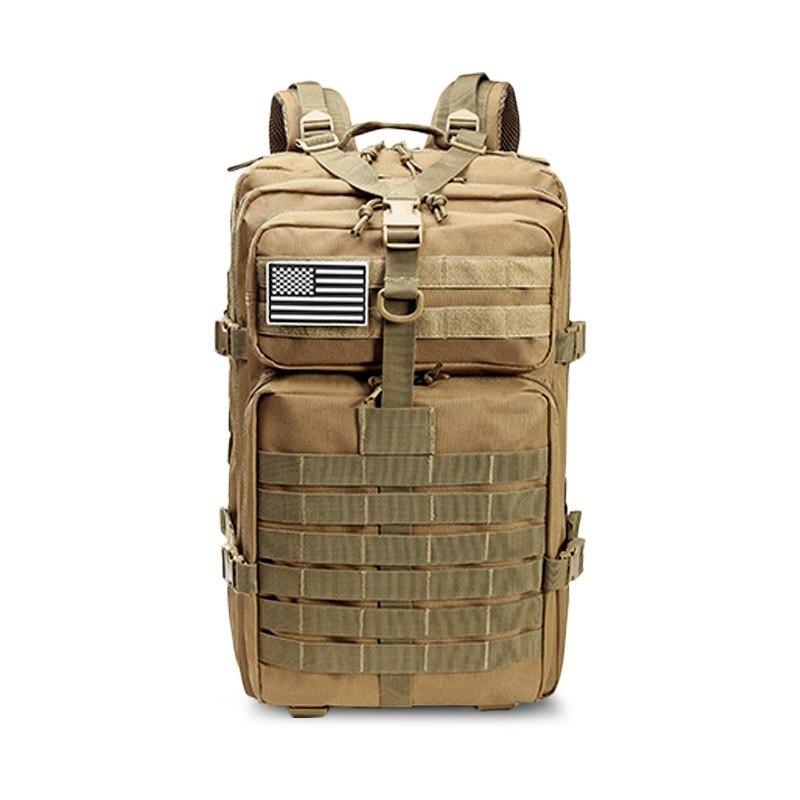 Grand sac 50L armée militaire tactique - Sac à dos étanche en plein air Sport randonnée Camping