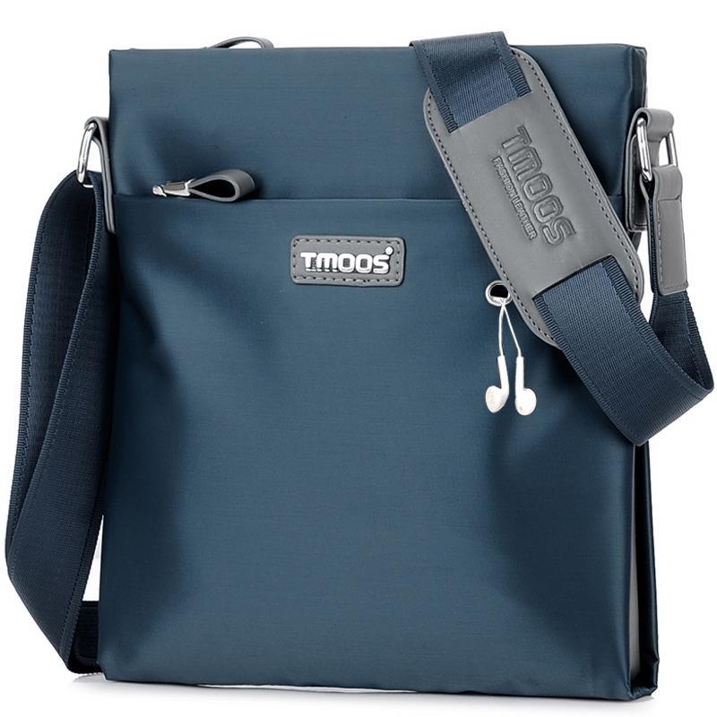 Sac à épaule multifonctions USB pour homme - Sacoche mode britannique décontracté