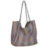 Femmes-laine-toile-sacs-motif-cossais-Vintage-Plaid-femme-grande-capacit-grand-fourre-tout-sac-main