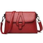 Sac-rabat-en-cuir-souple-pour-femmes-sacs-bandouli-re-en-couleur-unie-sacoches-de-marque