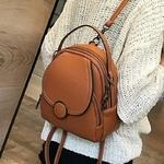 Nouveau-concepteur-de-mode-femmes-en-cuir-sac-dos-Mini-doux-au-toucher-multi-fonction-petit