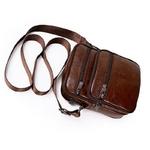 Sac-bandouli-re-en-cuir-v-ritable-pour-hommes-sacoche-rabat-Fashion-pour-voyage-nouvelle-collection