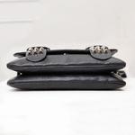 Sac-main-en-cuir-noir-pour-femmes-sacoche-Vintage-Rivets-avec-t-te-de-mort-Cool