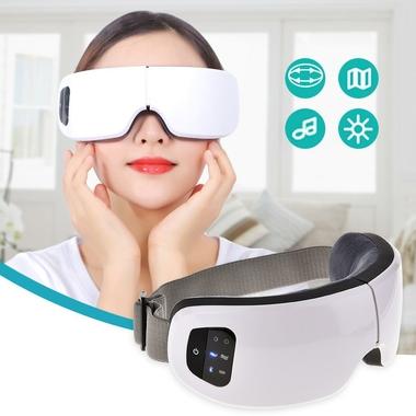 Masseur oculaire sans fil rechargeable avec chauffage et musiques 4