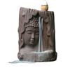 Statue de Bouddha en céramique brûleur d'encens cônes ou tige plus 20 cônes offerts